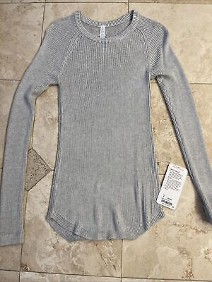 $ CDN31.90 • Buy NWT Lululemon | Cabin Yogi Long Sleeve Sweater | Size 8