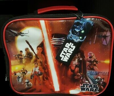 Star Wars Character Lunch Bag With Carry Handle Zipped New • 8.99£