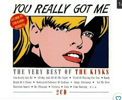 The Very Best Of The Kinks - You Really Got Me 2 CD German Edition • 4.99£