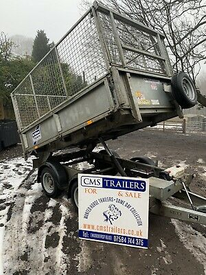 Ifor Williams 8ft Tipping Trailer • 3,250£