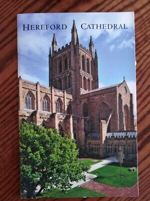 Official Hereford Cathedral Guide/history Book From Location • 3£