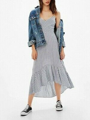 AU30 • Buy Bershka Stripe Dress New Without Tags Size XS