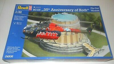 REVELL 04906 Bo 105 35th Anniversary Of Roth-Bier   Fly-Out Version 1:3 2 Boxed • 54.34£