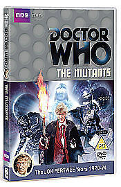 Doctor Who: The Mutants DVD! (2011) Jon Pertwee, NEW AND SEALED Region 2. • 5.99£