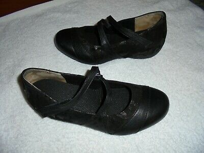 AU52 • Buy Ziera Xtreme Ladies Black Leather Shoes Size 40.5   9.5 Ex Condition