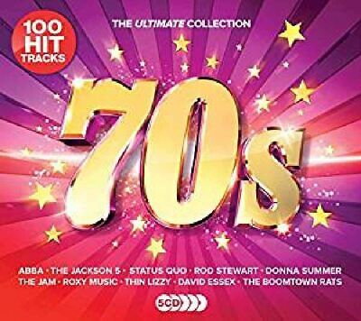 £4.75 • Buy The Ultimate Collection : 70s (5cd/100 Hits/various Artists) - New & Sealed Cd*