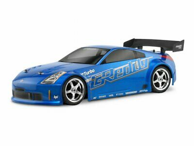 17518 HPI Nissan 350Z Greddy Twin Turbo Body - 200mm - Radio Controlled Car Body • 28.99£
