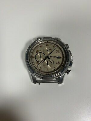 $24.99 • Buy Men Fossil FS5130 DEAN CHRONOGRAPH WATCH 0387 PARTS ONLY FACE