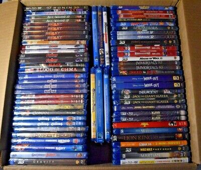 AU17.02 • Buy 3D Blu-ray Collection - 3D Movies For 3DTV - 3D Projectors - YOU CHOOSE - LOOK!