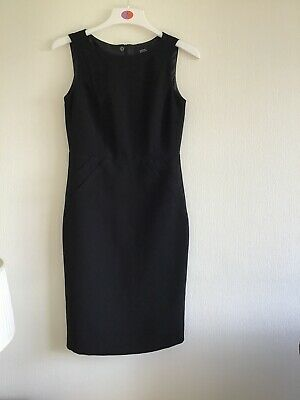 M&S Ladies Black Sleeveless Dress Size 10 BNWOT • 9.99£