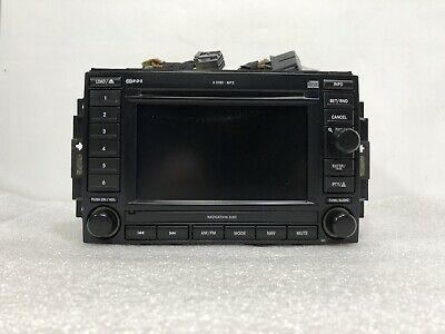 $299 • Buy 05-07 JEEP Dodge Chrysler Navigation Radio REC 6 Disc CD 56038646AL (No Code)