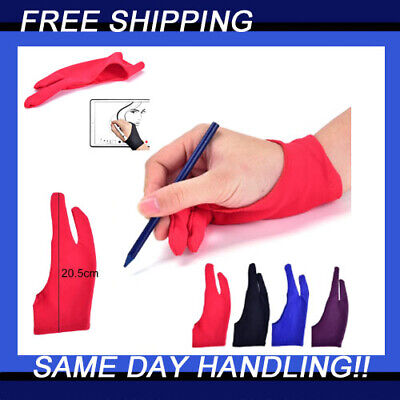AU4.70 • Buy Professional Medium Size Graphic Tablet Artist Sketch Drawing Two Finger Glove