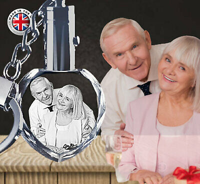 AU36.88 • Buy Personalised Valentines Day Gift Gifts For Him Her Girlfriend Husband - Keyring