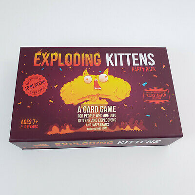 AU32.61 • Buy Exploding Kittens Party Pack Card Game Multiplayer Game Complete