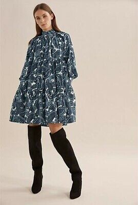 AU41 • Buy NWT Country Road Paisley Babydoll Dress 14