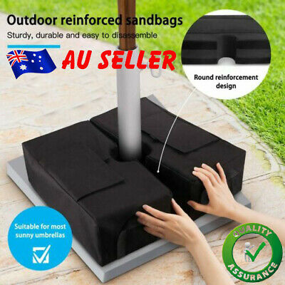 AU22.77 • Buy Umbrella Base Weight Sand Bag Detachable Square Stand Outdoor Parasol Tent Base/