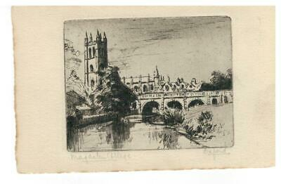 OXFORD Magdalen College 6946 • 2.50£