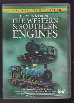 £9 • Buy Driving & Firing The Western & Southern Engines (DVD) Railway DVD ~ 2 Disc Set
