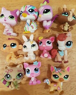 Lps Littlest Pet Shop Bundle 11x Figures Rare Cats And Others In Great Condition • 21.95£