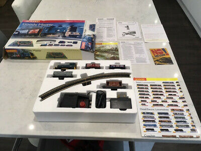 Hornby 00 Gauge Train Set Goods Master With TrakMat & Collection Poster • 37£