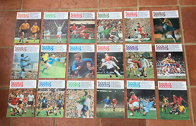 Book Of Football Job Lot Of 18 Parts - Marshall Cavendish Encyclopedia • 29.95£