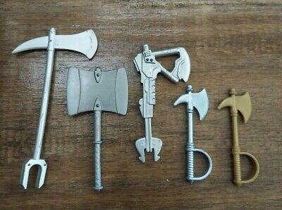 $18.99 • Buy Masters Of The Universe Classics Lot Of Axe Weapons Original MOTUC Parts