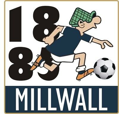 Millwall Andy Capp Pin Badge • 4£
