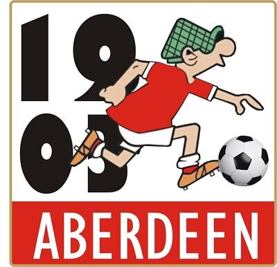 Aberdeen Andy Capp Pin Badge • 4£