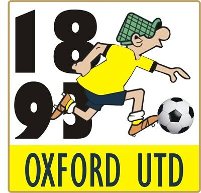 Oxford Utd Andy Capp Pin Badge • 4£