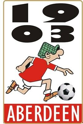 1903 Aberdeen Andy Capp Pin Badge • 4£