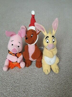 McDonalds Plush Collectables Winnie The Pooh 'The Tigger Movie' 3 Characters... • 2.50£