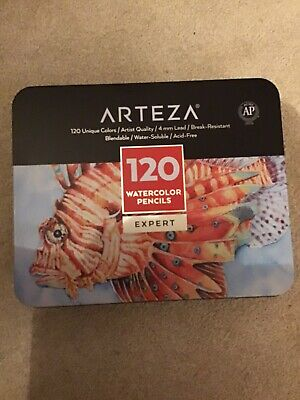 Artists Arteza 120 Water Soluble Colouring Pencils • 30£