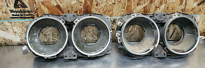 AU254.23 • Buy 76 77 Toyota Celica Gt Ra29 Headlight Bucket Pair Left Right Chrome Set Ring Oem