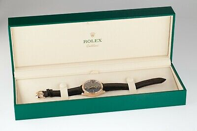 $ CDN18934.49 • Buy Rolex 18k Ever Rose Gold Dual Time Cellini Men's Watch 50525 W/ Box And Papers