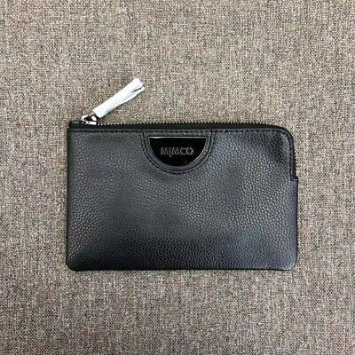 AU35.99 • Buy Mimco Echo Black Small Pouch Leather • Authentic Rrp $79.95