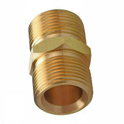 M22/15mm To Male Adaptor Power Pressure Washer Pump Hose Outlet For Karcher • 5.81£