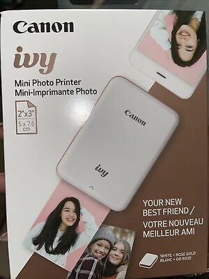 View Details Canon Ivy Mini Mobile Photo Printer - Rose Gold • 50.99$