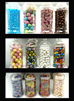 VICTORIAN JAR Pick N Mix RETRO SWEETS Traditional & Modern Valentines Easter • 4.99£