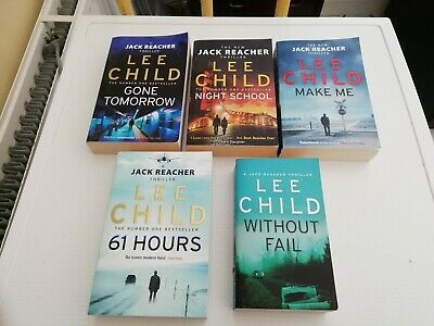 5 Lee Child Jack Reacher Books Without Fail 61 Hours Make Me Night School Etc  • 11.50£