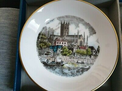 Royal Worcester Pin/trinket Dish 4 Inch In Box Never Displayed. • 4.98£