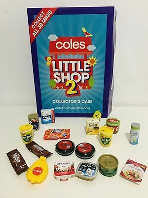 AU4 • Buy Coles Minis Collectables Series 1, 2 And Christmas VGC