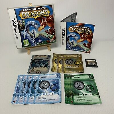 Combat Of Giants: Dragons (Nintendo DS, 2008) - European Version With Cards • 6.45£