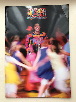 £6.95 • Buy JOSEPH AND THE AMAZING TECHNICOLOR DREAMCOAT Musical LARGE Programme LEE MEAD