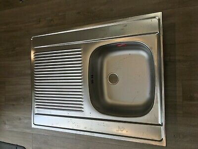 Brand New Franke Sink Stainless Steel 800mm X 600mm - Large * Never Used • 30£