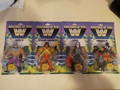 $159.90 • Buy New Masters Of The Wwe Universe Wave 1 Lot HHH Ultimate Warrior Finn Balor Sting
