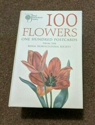 100 Flowers One Hundred Postcards - Royal Horticultural Society. Full Box. • 4£