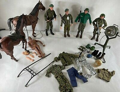 $ CDN1148.31 • Buy Lot Of FIVE Vintage 12-inch GI Joe Figures And Accessories From The 1960's!