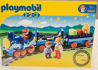 £34.99 • Buy Brand New Sealed Box Playmobil 6880 1.2.3 Night Train With Track And People