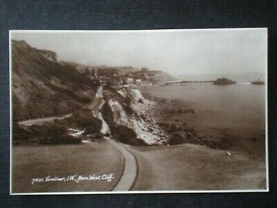 Ventnor From West Cliff Isle Of Wight RP Postcard • 1.65£