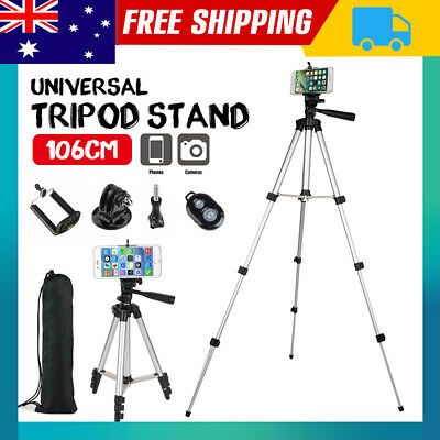 AU13.85 • Buy Adjustable Camera Tripod Mount Stand Holder For IPhone 12 Pro SE Max Samsung S20